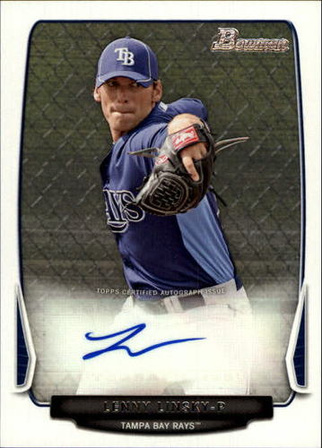 Photo of 2013 Bowman Prospect Autographs #LL Lenny Linsky