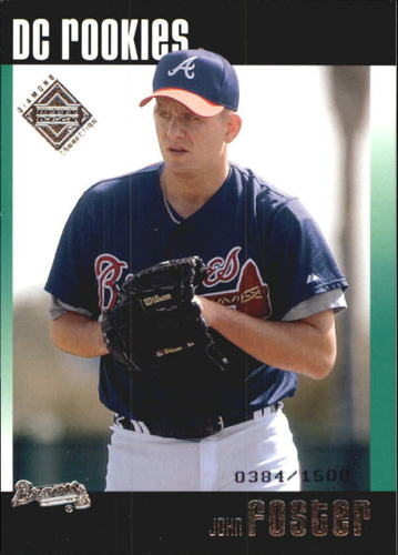 Photo of 2002 Upper Deck Diamond Connection #104 John Foster DC RC
