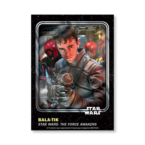 Bala-tik 2016 Star Wars Card Trader Base Poster - # to 99