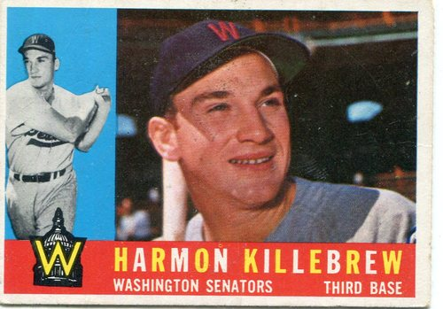 Photo of 1960 Topps #210 Harmon Killebrew-- Hall of Famer