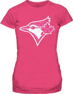 Toronto Blue Jays Youth Floral Pink T-Shirt by Bulletin