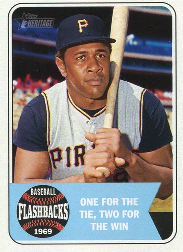 Photo of 2018 Topps Heritage Baseball Flashbacks #BFWS Willie Stargell