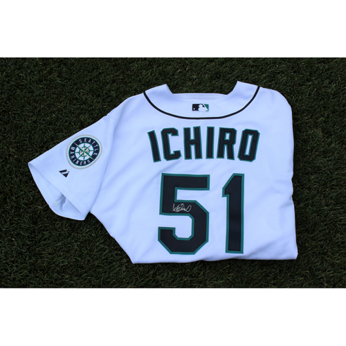 Photo of Mariners Care Charity Night: Ichiro Suzuki Autographed Jersey (2001-2012 era)