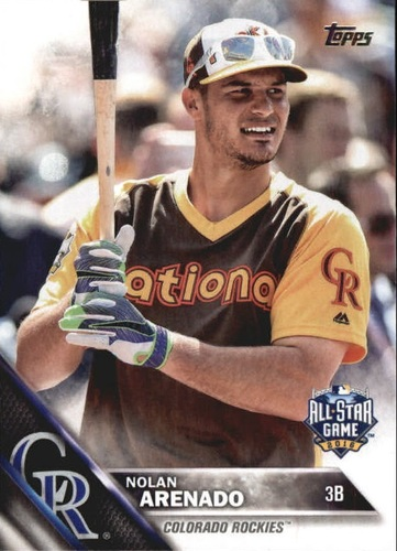 Photo of 2016 Topps Update #US256A Nolan Arenado AS