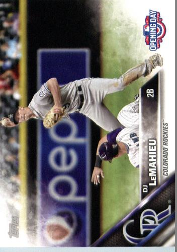 Photo of 2016 Topps Opening Day #OD39 DJ LeMahieu