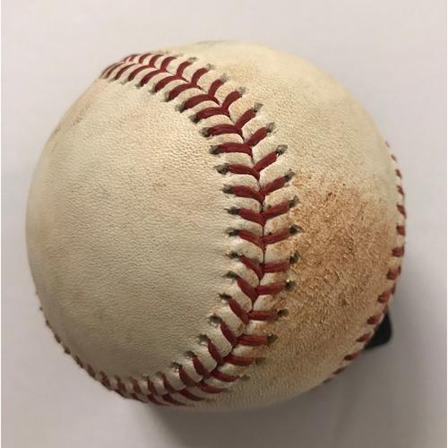Photo of Paul Goldschmidt Game-Used Hit Single Baseball - 7/15/2018