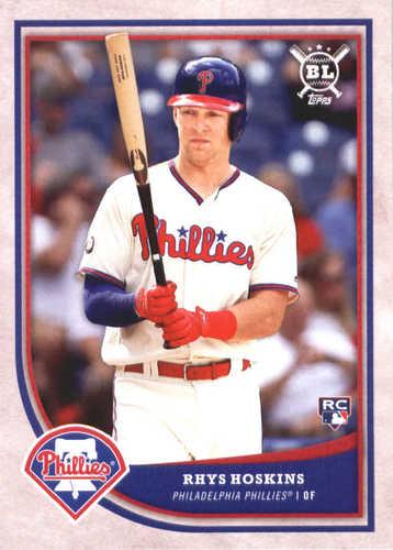 Photo of 2018 Topps Big League #113 Rhys Hoskins RC
