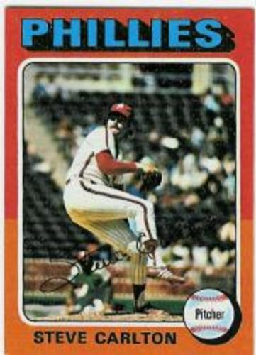 Photo of 1975 Topps #185 Steve Carlton