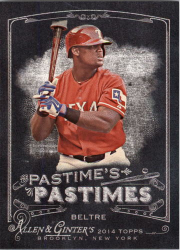 Photo of 2014 Topps Allen and Ginter The Pastime's Pastime #PPAB Adrian Beltre