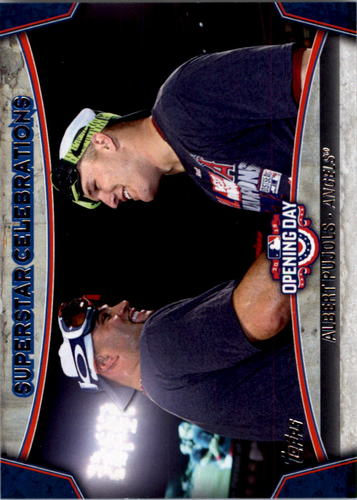 Photo of 2015 Topps Opening Day Superstar Celebrations #SC14 Albert Pujols