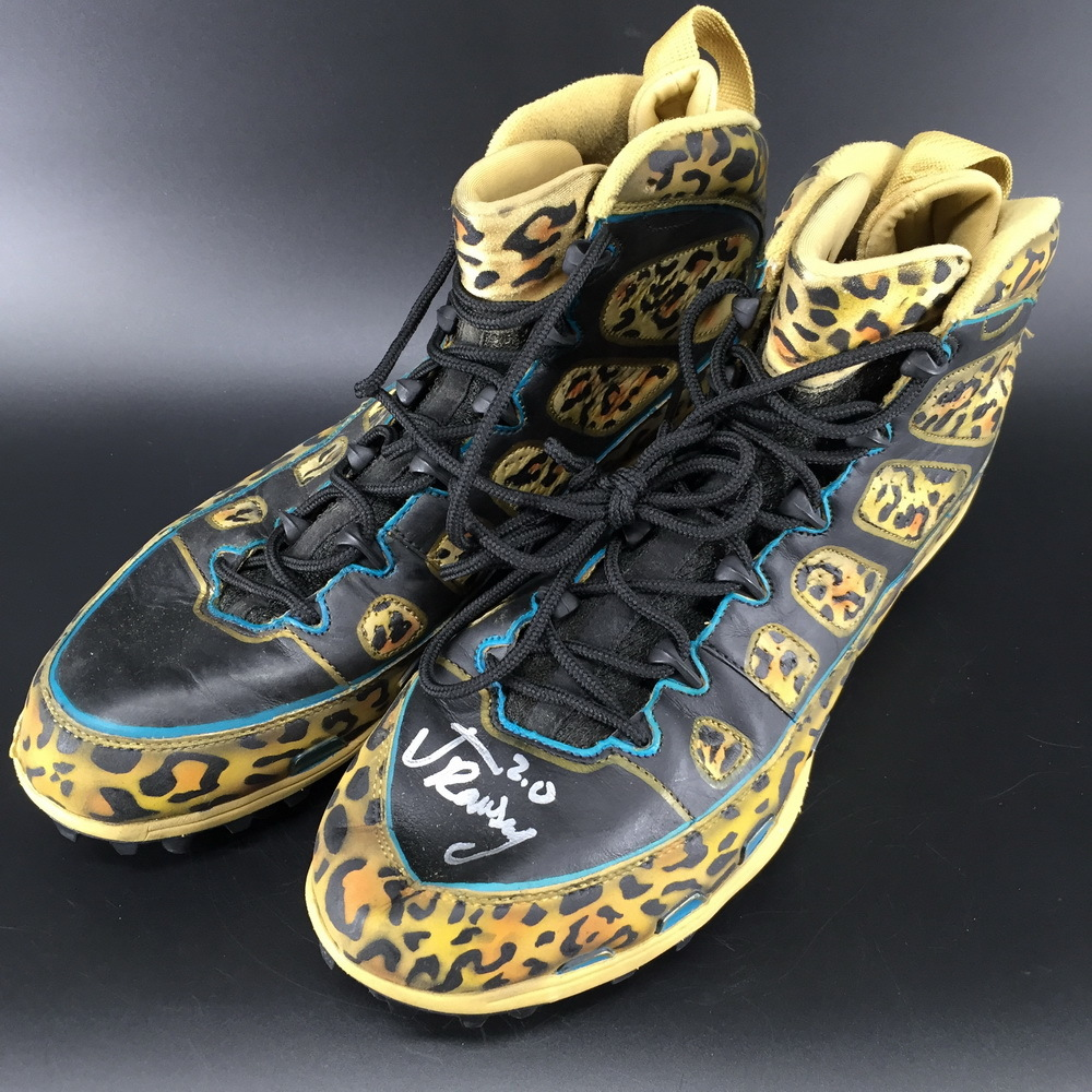 Jaguars - Jalen Ramsey Signed Game Used Cleats