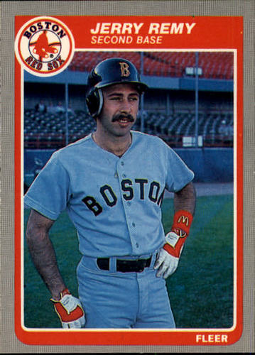Photo of 1985 Fleer #167 Jerry Remy