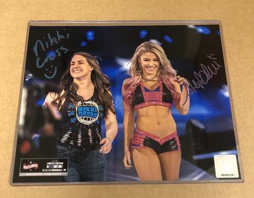 Photo of Alexa Bliss and Nikki Cross SIGNED WrestleMania 36 Exclusive Photo (Random Number)