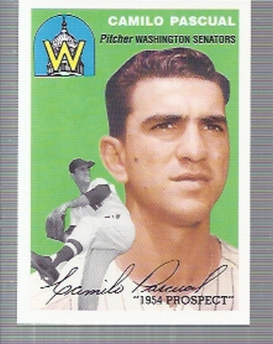 Photo of 1994 Topps Archives '54 #255 Camilo Pascual