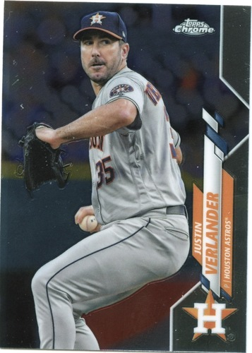 Photo of 2020 Topps Chrome #164 Justin Verlander