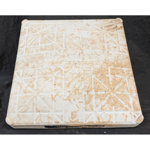 Photo of Game-Used 3rd Base - 9/30/20 - Dodgers v Brewers - Wild Card Series