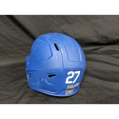 Terrance Gore 2020 Team-Issued World Series Batting Helmet