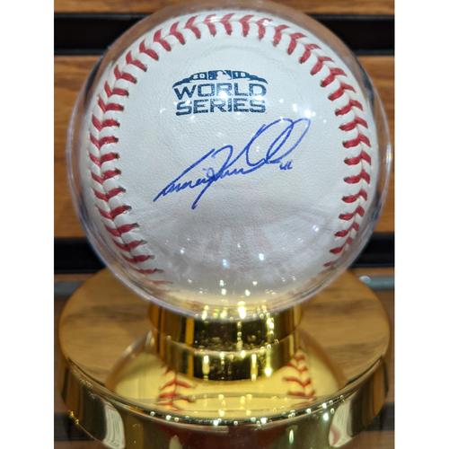 Photo of Craig Kimbrel #46 Autographed 2018 World Series Baseball