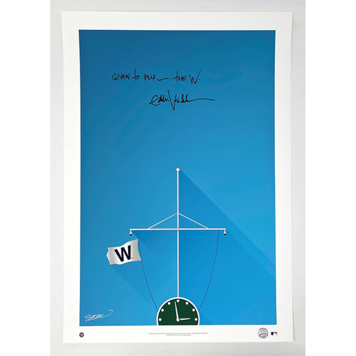 Photo of Fly the 'W' Print -- Autographed by Eddie Vedder