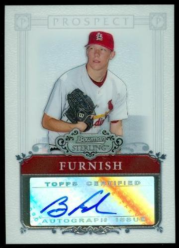 Photo of 2006 Bowman Sterling Prospects #BF Brad Furnish AU A