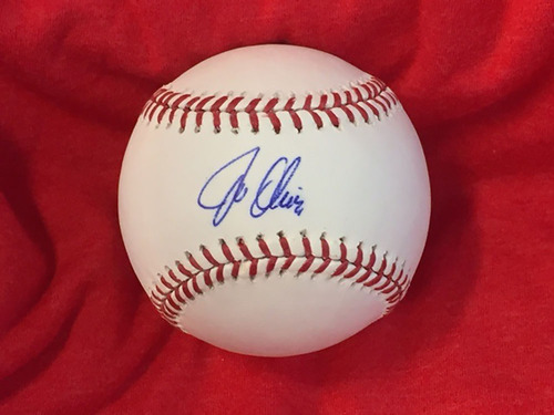 Photo of Joe Oliver Autographed Baseball