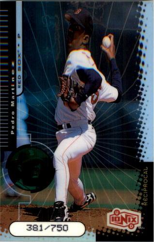Photo of 1999 UD Ionix Reciprocal #14 Pedro Martinez