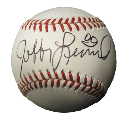 Photo of San Francisco Giants - Jeffery Leonard Autographed Baseball