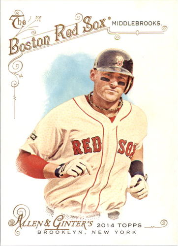 Photo of 2014 Topps Allen and Ginter #107 Will Middlebrooks