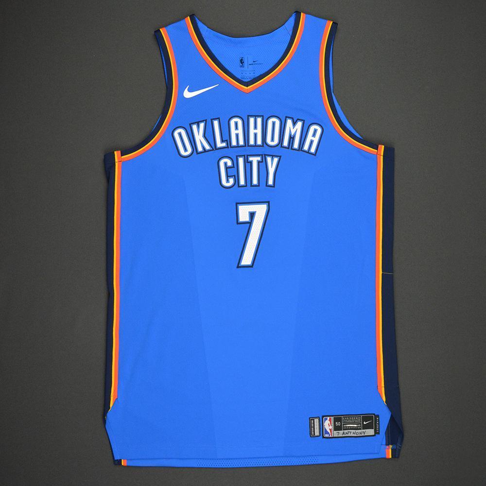 more photos e6376 ccb12 Carmelo Anthony - Oklahoma City Thunder - Kia NBA Tip-Off ...