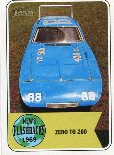 Photo of 2018 Topps Heritage News Flashbacks #NF4 Dodge Charger Daytona: American Muscle