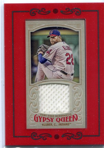 Photo of 2016 Topps Gypsy Queen Mini Relics Corey Kluber