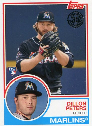 Photo of 2018 Topps '83 Rookies #8312 Dillon Peters