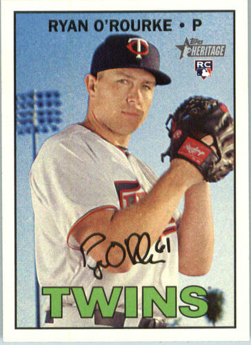 Photo of 2016 Topps Heritage #646 Ryan O'Rourke RC