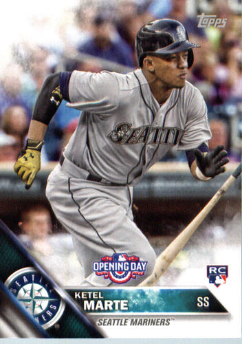 Photo of 2016 Topps Opening Day #OD41 Ketel Marte Rookie Card