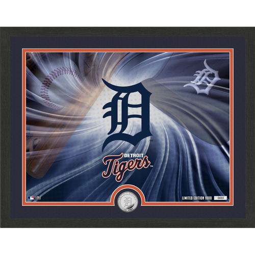 "Photo of Detroit Tigers Pride 16""x 20"" Silver Coin Photo Mint"