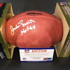 HOF - Cowboys Jackie Smith Signed Authentic Football