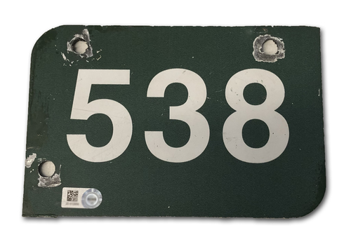 Photo of Wrigley Field Collection -- Aisle Marker 538 -- Removed after 2018 Season