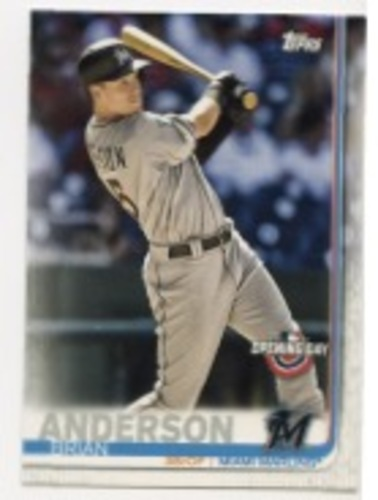 Photo of 2019 Topps Opening Day #16 Brian Anderson