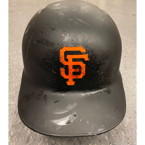Photo of 2019 Game Used Batting Helmet - used by #19 Tyler Austin - authenticated on 5/23/19 vs ATL - 100th Career Hit (HR) - Size 7 1/4