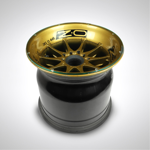Photo of Kimi Raikkonen 2012 Lotus F1 Team Wheel Rim Table