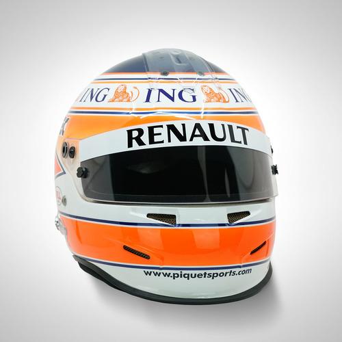 Photo of Nelson Piquet Jr 2008 1:1 Replica Helmet