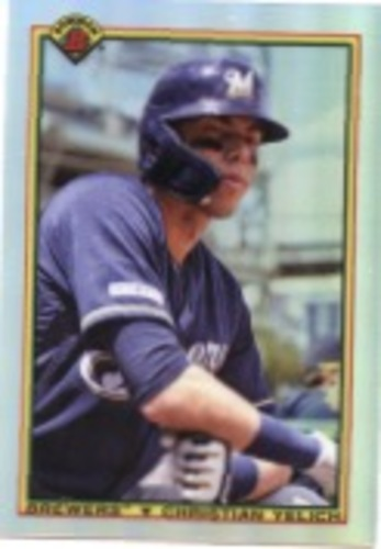 Photo of 2020 Bowman Chrome '90 Bowman #90BCY Christian Yelich