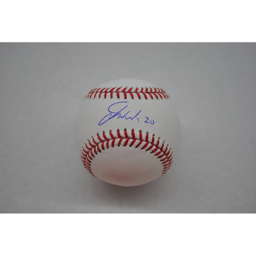 Photo of Autographed Lou Gehrig Day Baseball - Jared Walsh