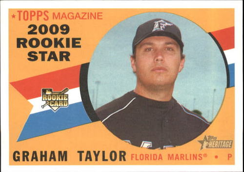 Photo of 2009 Topps Heritage #580 Graham Taylor RC