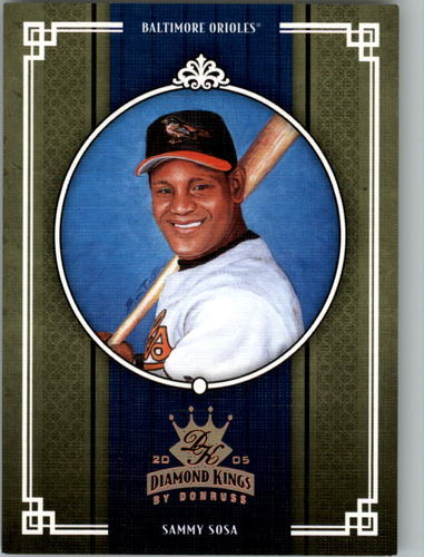Photo of 2005 Diamond Kings Bronze #441 Sammy Sosa O's