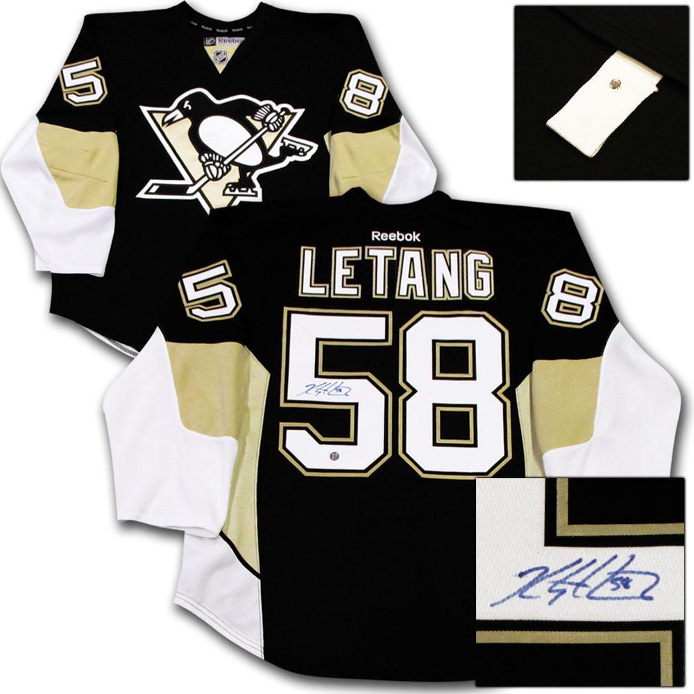 Kris Letang Autographed Pittsburgh Penguins Authentic Pro Jersey