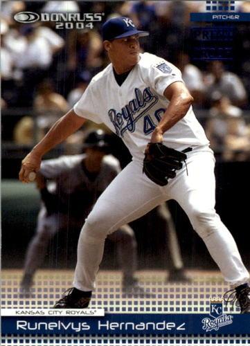 Photo of 2004 Donruss Press Proofs Blue #135 Runelvys Hernandez