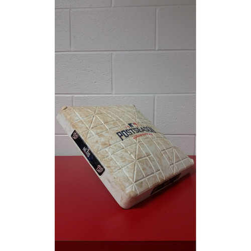 Game-Used Base - NLDS Game 1