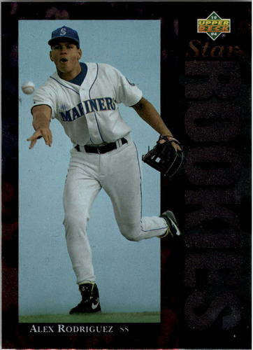 Photo of 1994 Upper Deck #24 Alex Rodriguez RC