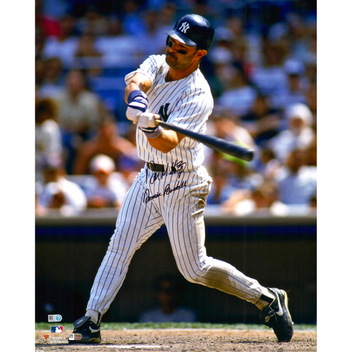 """Photo of Don Mattingly New York Yankees Autographed 16"""" x 20"""" Batting Photograph with Donnie Baseball Inscription"""
